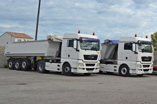 Camions-bennes - 1